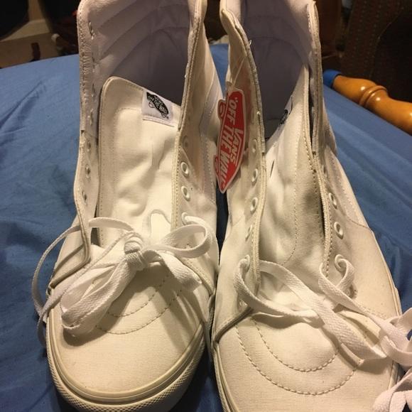 Vans Shoes | All White Size 15 | Poshmark